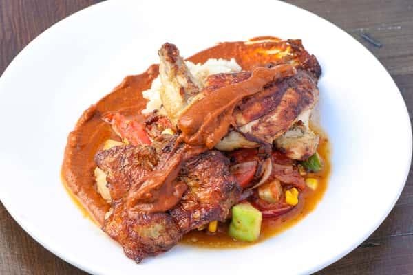 Herb Roasted Half Chicken