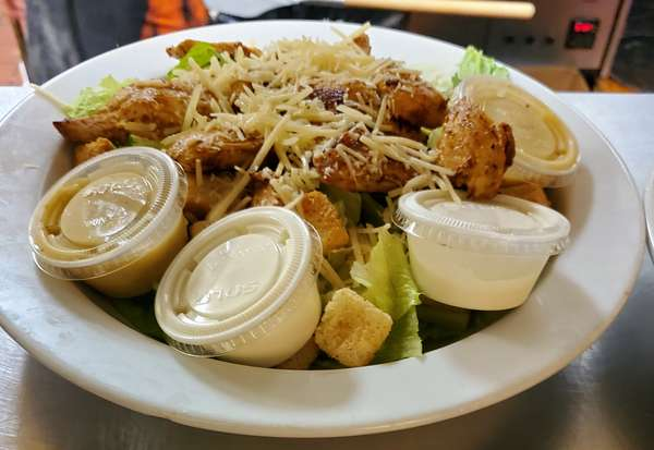 chicken cesar salad
