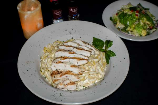 Fettuccine Alfredo with Chicken