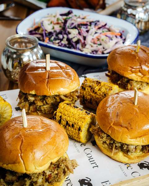 Barbeque sliders