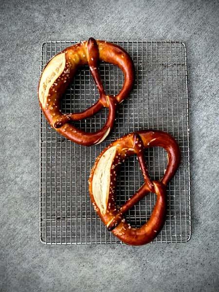 Large pretzels