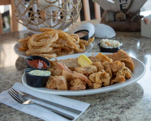 Jake's Seafood Platter
