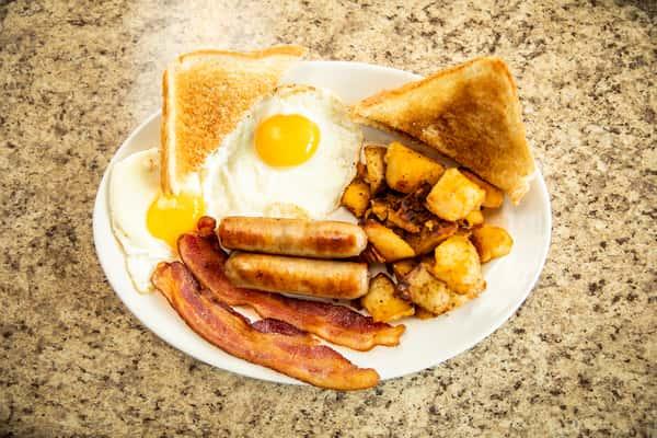 Jake's Hungry Man's Breakfast