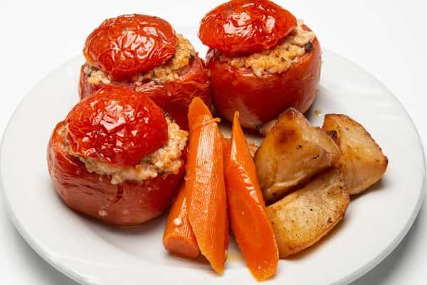 Gemitsa Vegetarian Stuffed Tomato