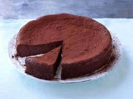European Flourless Chocolate Cake