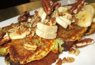 Banana & Nutella Waffle