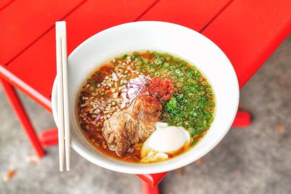 Buta Miso Ramen (味噌牛肉ラーメン)