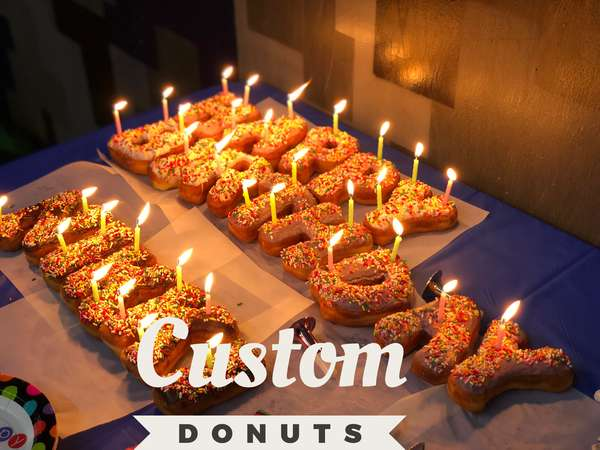 CUSTOM DONUTS