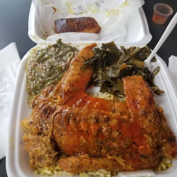 Dish at A1 Soulfood