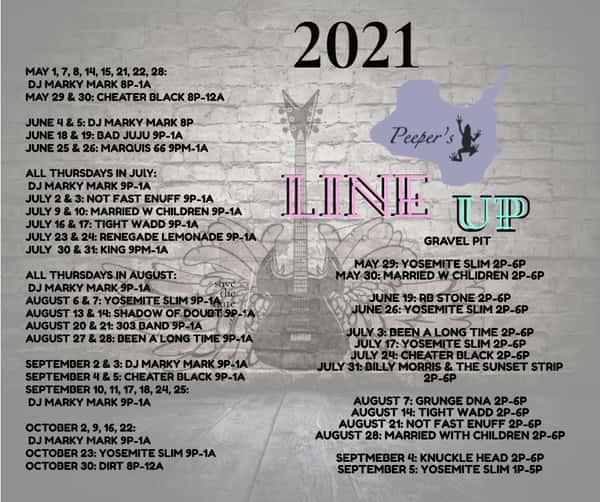 2021 Line Up