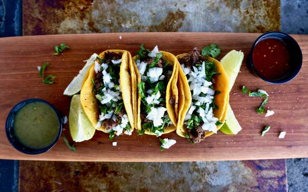 Authentic Street-Style Tacos