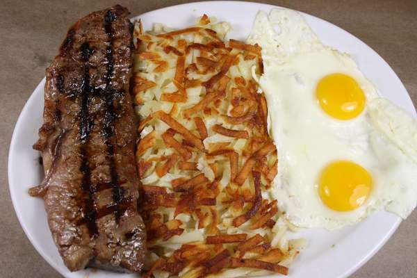 New York Steak & Eggs