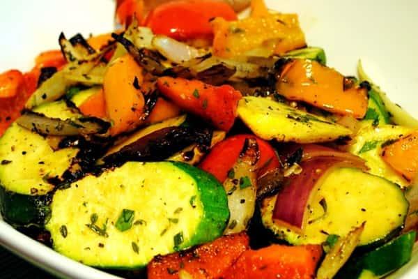 Sahra's Seasonal Grilled Vegetables Platter