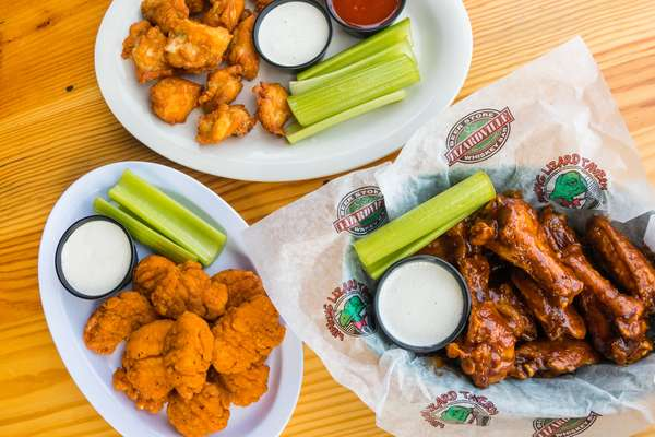 Monday & Tuesday - Wings