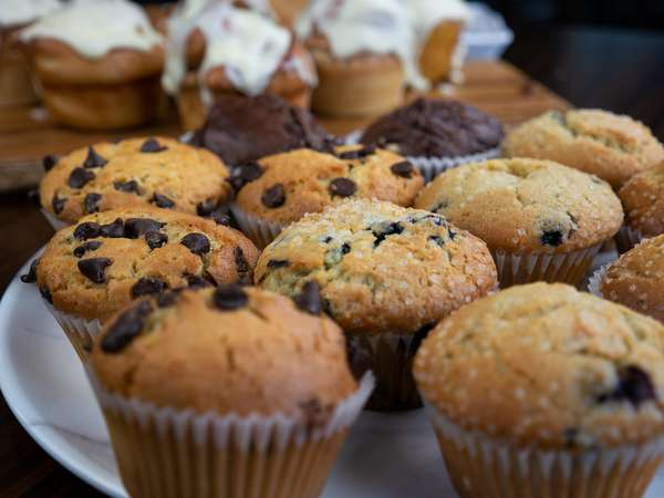 muffin platter