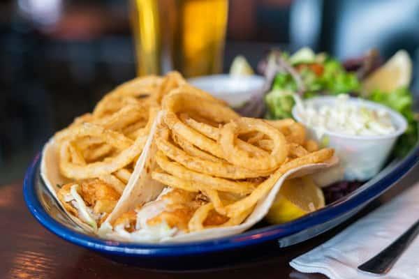 Twin Fish Tacos