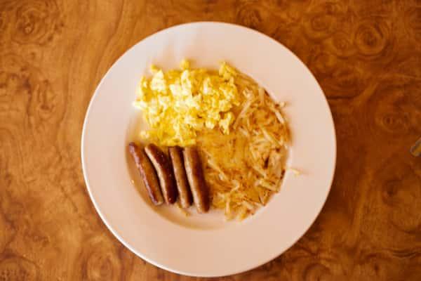 Sausage Links & Eggs