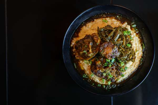 Oxtails & Grits