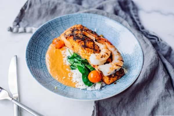Creole Salmon (Dinner PreFix)