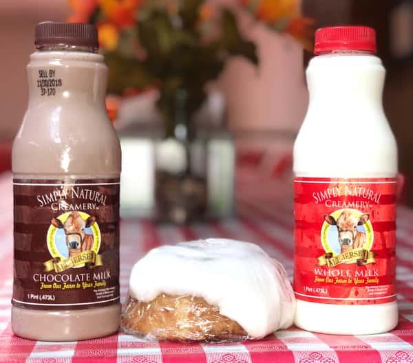 Simply Natural Creamery Pint Milks
