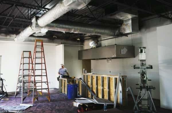 Construction on our OG Westside Location