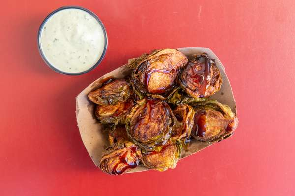 Flash Fried Brussel Sprouts