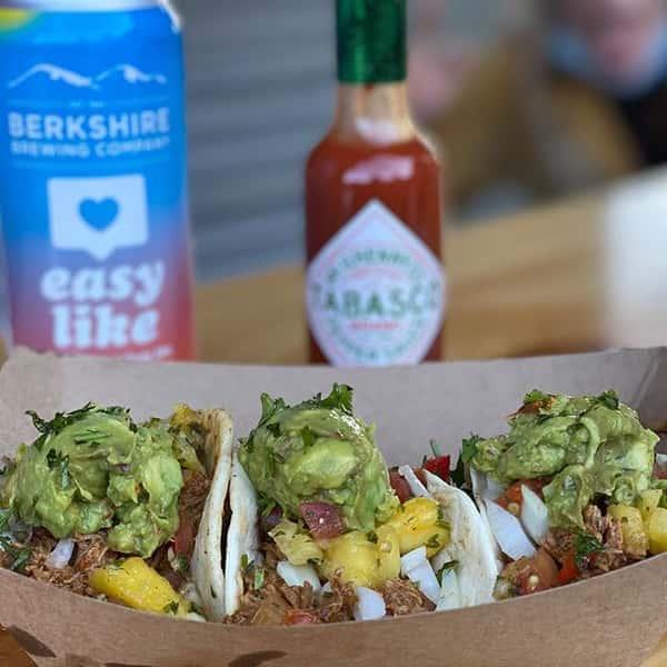 Tacos made at instabar