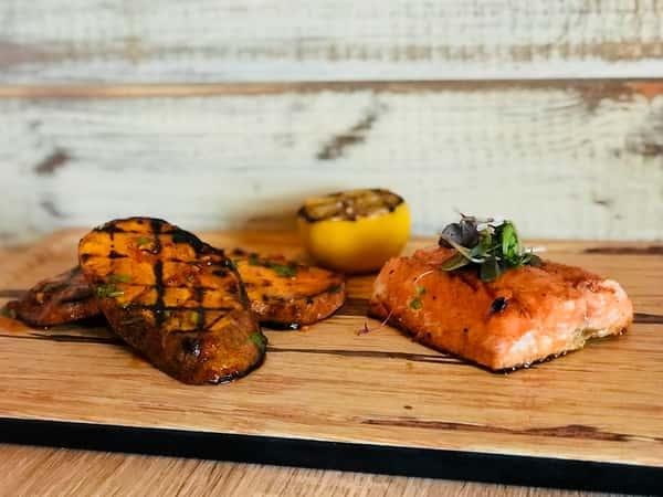 salmon and potato
