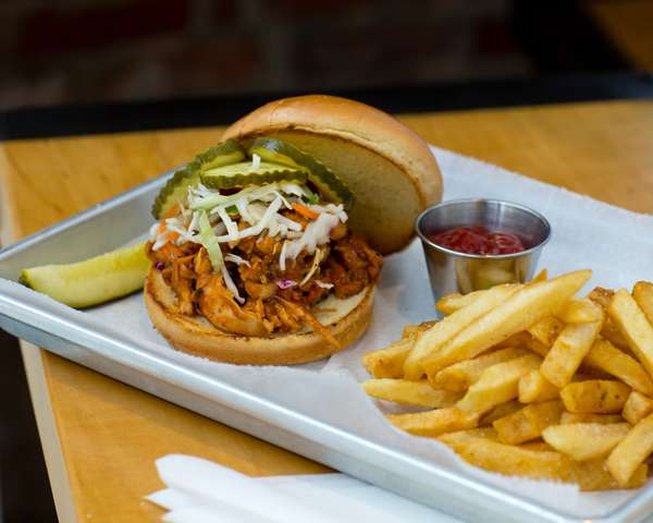 Smoked Pulled Chicken