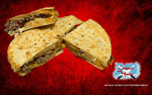 Cheeseburger & Fries Quesadilla