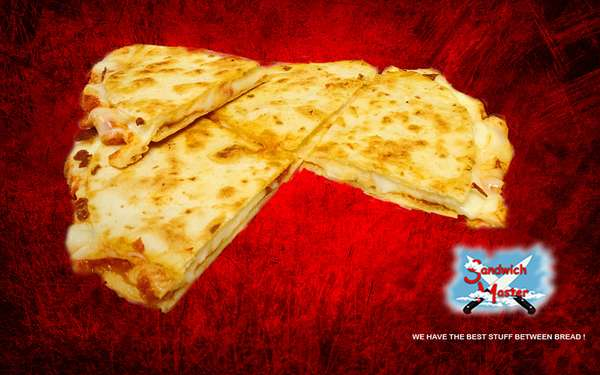Plain Cheese Pizza Quesadilla