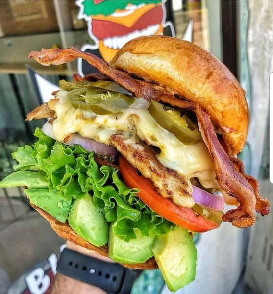 Jalepeno Bacon Chicken Ranch Combo