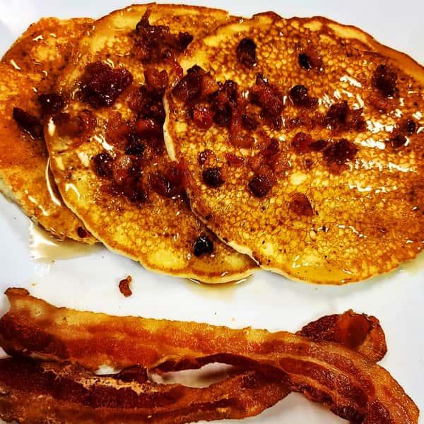 3 Flying Pig Pancakes
