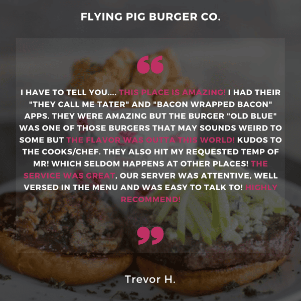 Burgers Brunch and Brews at The Flying Pig Burger Co 😎 👌 🤪 😛 👀 👍 🍩 🥓 🍔 🍟 🍳 🔥