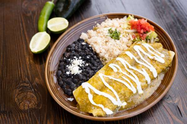 Enchilada De Chile Verde
