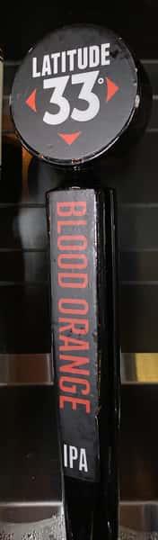 LATTITUDE 33 BLOOD ORANGE IPA