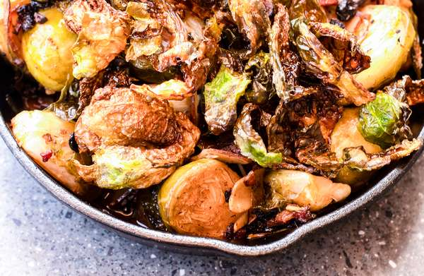 BRUSSEL SPROUT SAUTE