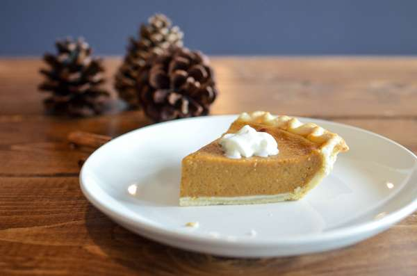 Apple Pie or Pumpkin Pie with Whipped Cream