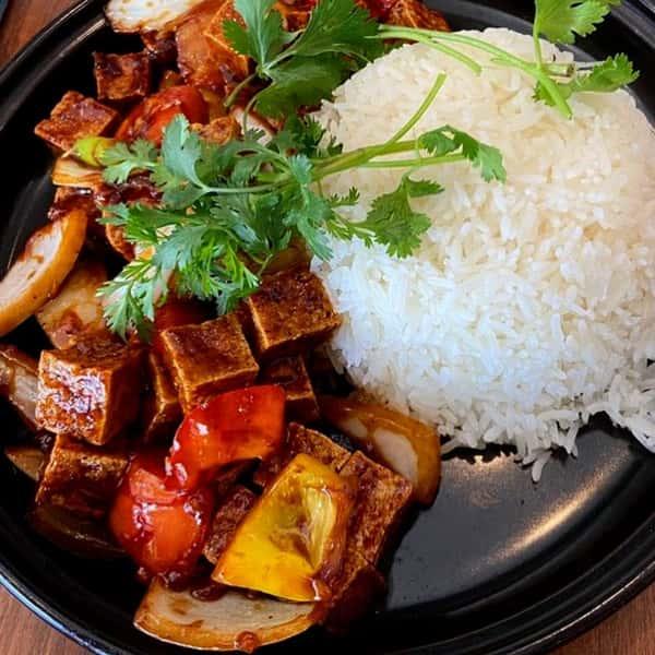Shaken Tofu / Đậu Hủ Lúc Lắc