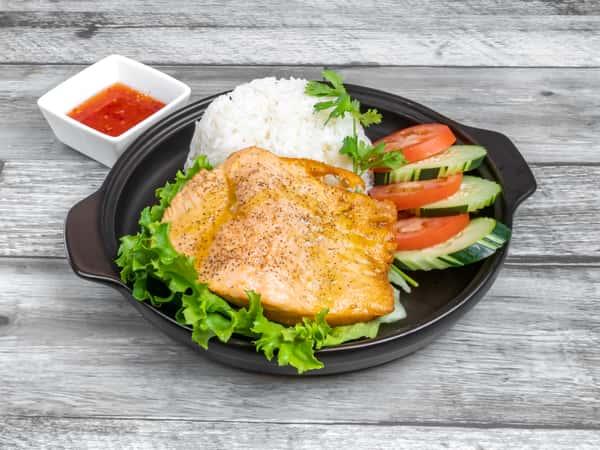 Fried Salmon / Salmon Chiên