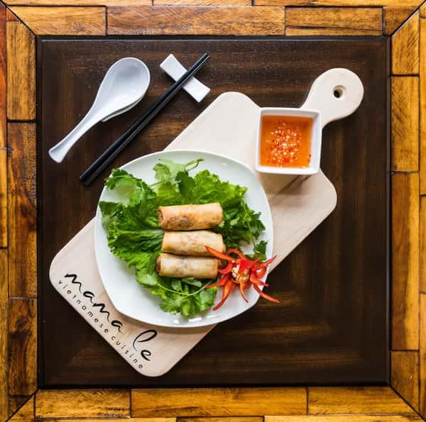 Vegetable Egg Rolls / Chả Giò Chay (3)