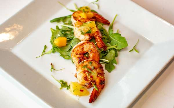 Jerked Shrimp