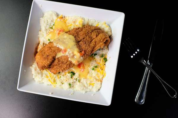 Catfish and Grits