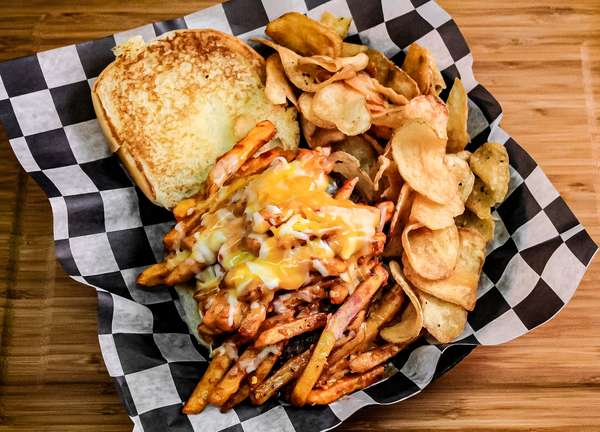 Chill Cheese Fry Burger