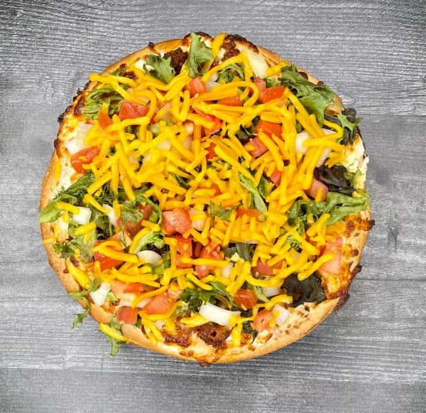 Taco pizza menu
