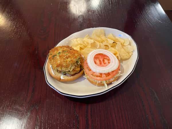 Sandwich - Crab Cake on a Bun