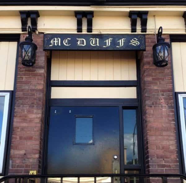 mcduffs exterior