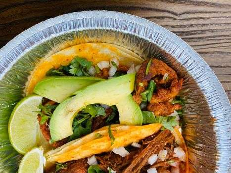 tacos with avocado