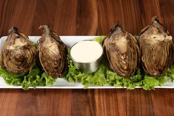 Fresh Grilled Artichoke
