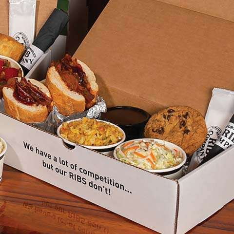 Boxed Meal: Sandwich, 2 Sides